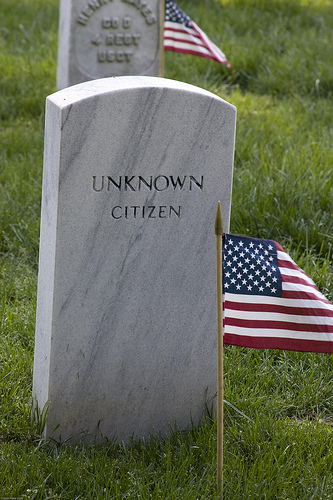 "Irony in W. H. Auden's Poem ""The Unknown Citizen"""