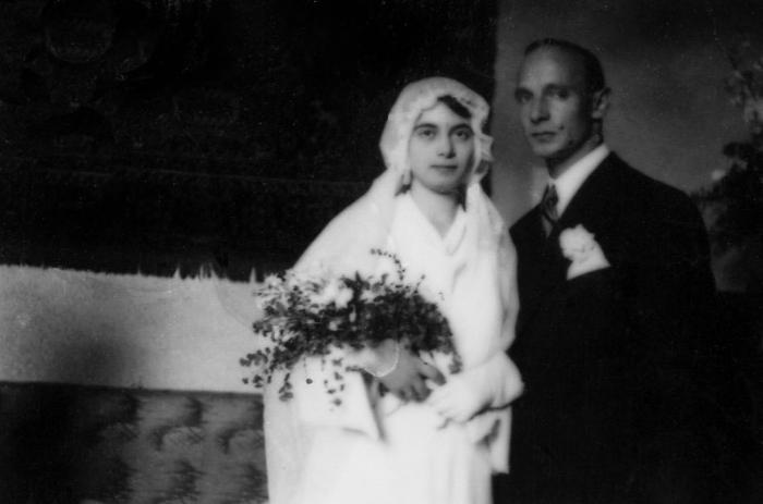Matrimonio di Carolina e Eugenio - Firenze 1936
