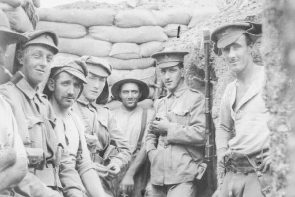 "ANZAC, Gallipoli… ""same good old pipe I brought from home"""