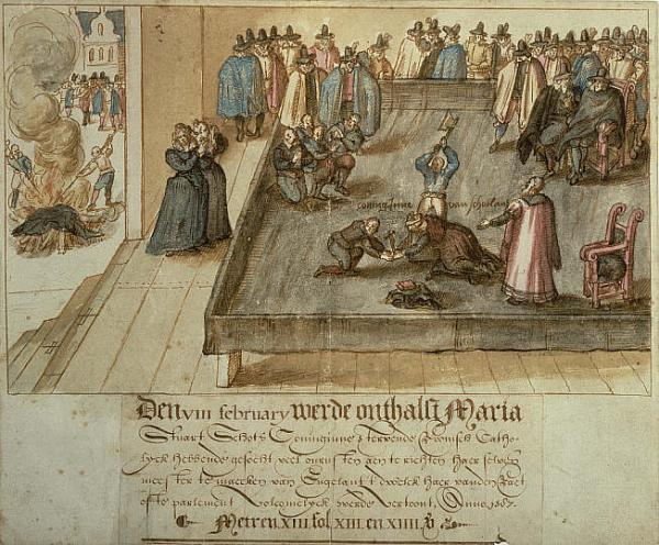 Decapitazione di Mary Queen Of Scots, ‎Fotheringhay, 8 febbraio 1587