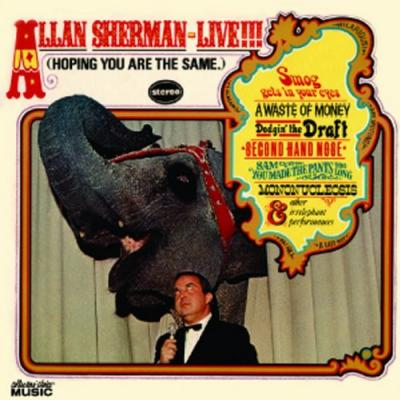 Allan Sherman ‎Live!!! (Hoping You Are The Same)
