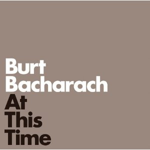 Burt Bacharach At This Time cover