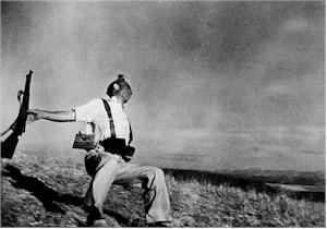 La famosa foto di Robert Capa