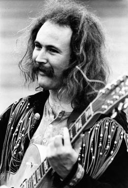 David Crosby long hair