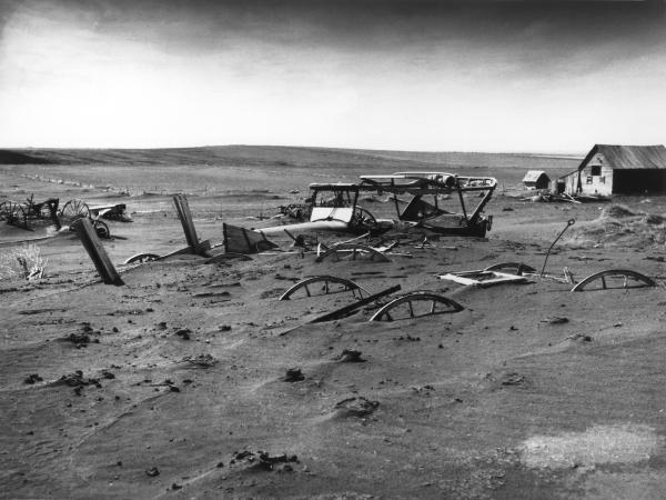 """Dust Bowl"" in Sud Dakota, 1936"