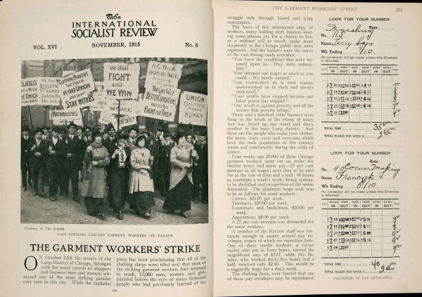 Garment Workers' Strike, Chicago 1915