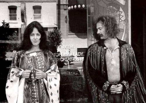 Grace Slick and David Crosby