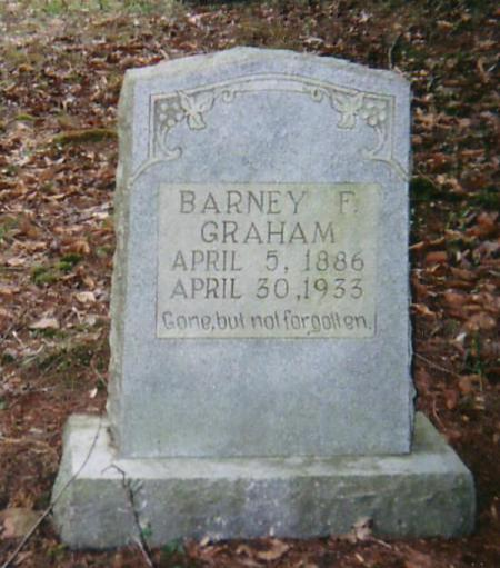 "Barney Graham (1886-1933): ""Gone, but not forgotten"""