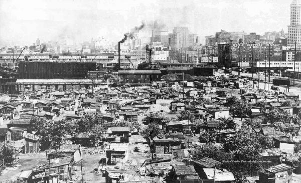 Hooverville, Seattle, 1930s