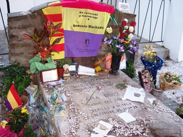 La tomba di Antonio Machado a Collioure