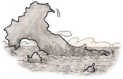 Nel fango affonda lo stivale dei maiali