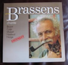 Brassens chante Bruant, Colpi, ‎Musset, Nadaud, Norge