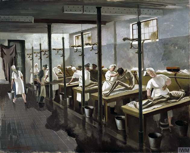 Human Laundry ,1945 Doris Zinkeisen  - London, IWM