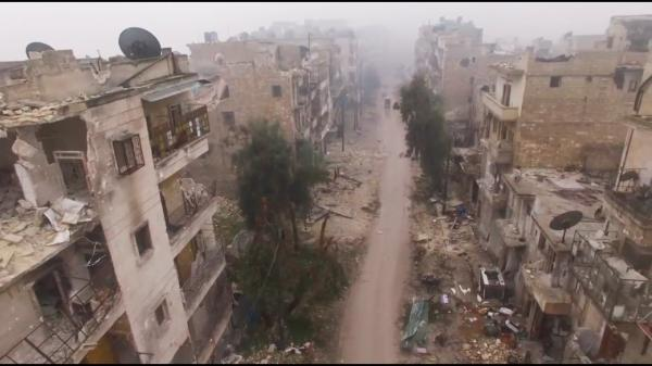 Ghost town of Aleppo