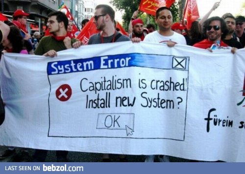capitalism crashed