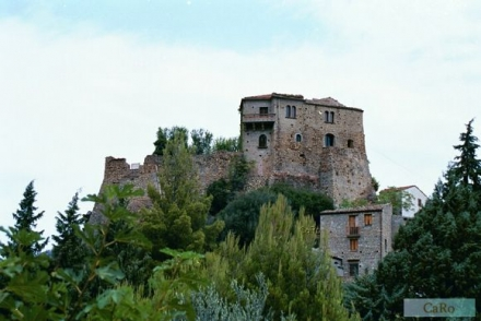 The Favale Castle, Valsinni, Italy, where the poetess Isabella of Morra was imprisoned and killed by her brothers in 1546.