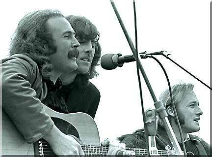 Crosby, Stills & Nash a Woodstock, 1969