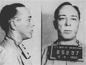 Lo snapshot di Dalton Trumbo in carcere. Dalton Trumbo's jail snapshot.. 1950.
