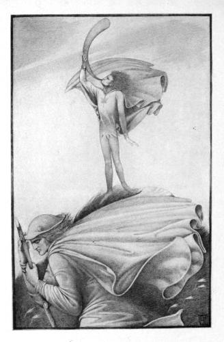 The Elfin Knight, disegno di Vernon Hill (1912)