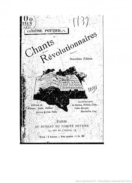 Chants révolutionnaires ‎