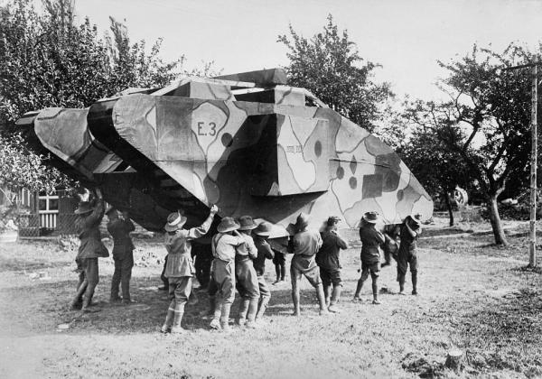 Decoy: WWI Dummy Tank