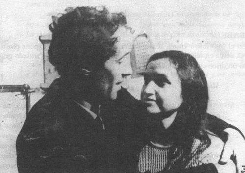 Violeta Parra e Gilbert Favre.