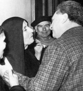 Francesca Serio avec Carlo Levi