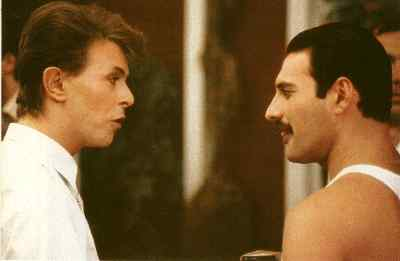 Freddy Mercury & David Bowie
