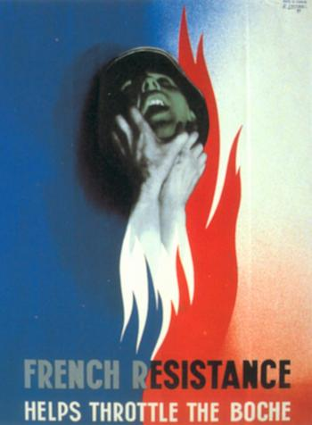 French Resistance Helps Throttle The Boche‎