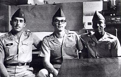 I Fort Hood Three: James Johnson, David Samas e Dennis Mora