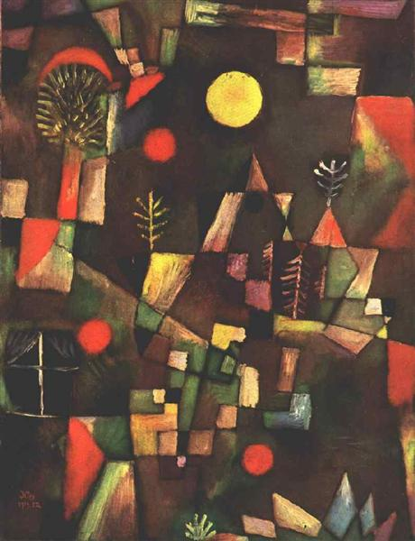 Paul Klee 1919- Der Vollmond / Plenilunio