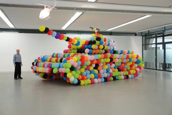 Hans Hemmert, Balloon Sculpture, 2007