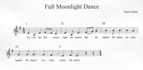 Full Moonlight Dance