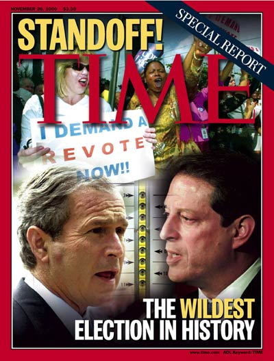 Time: the wildest election in History