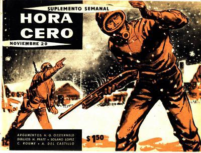 La copertina di Hora Cero Semanal con la prima puntata dell'Eternauta