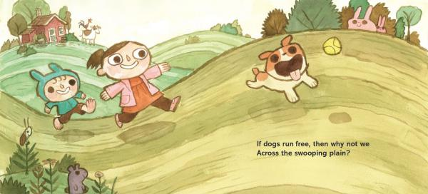 If Dogs Run Free, illustrazione di Scott Campbell