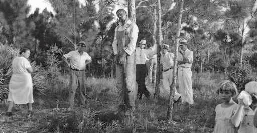 1935. Lynching of Rubin Stacy in Fort Lauderdale, Florida