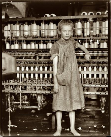 Lowell Mill Girl