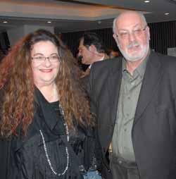 Ο Κ.Χ. Μύρης  με τη Νένα Βενετσάνου. K.H.Myris assieme a Nena Venetsanou.