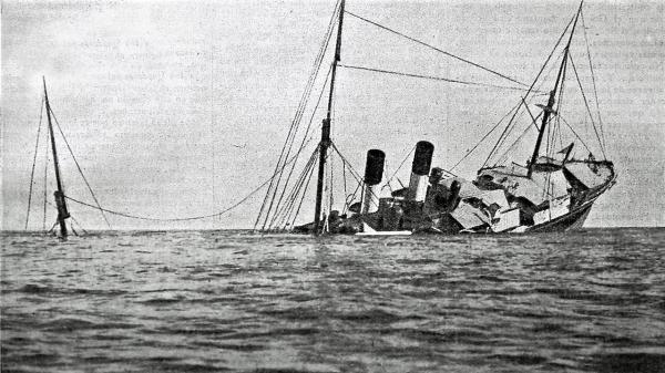 "Cabo Palos (Spain), 4 August 1906: the shipwreck of steamliner ""Sirio"""