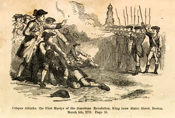 crispus attucks the first man to die in the american revolutionary war The building is named after crispus attucks, who is said to be the first american, and i repeat, american, to die in the revolutionary war as the relationship between great britain and its.