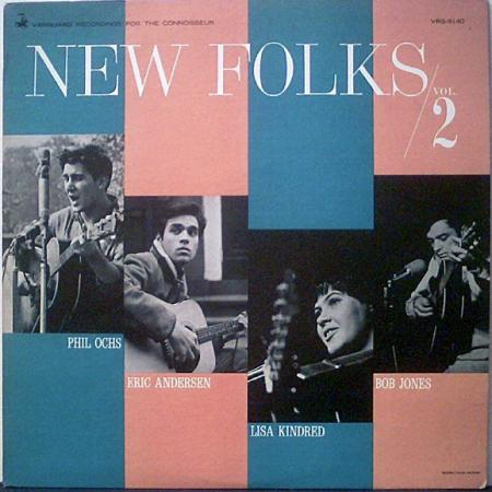 La copertina di New Folks vol. 2 (Vanguard VRS 9140), contenente la prima incisione di There But for Fortune da parte di Phil Ochs (1964)