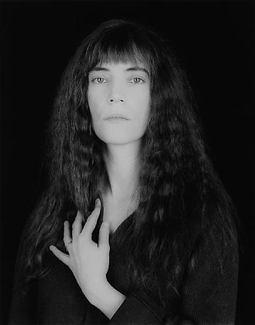 Patti Smith, 1986 by Robert Mapplethorpe