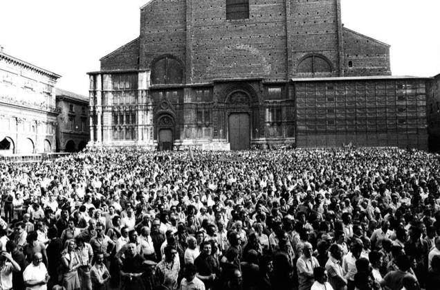 Piazza Maggiore, 9 agosto 1974