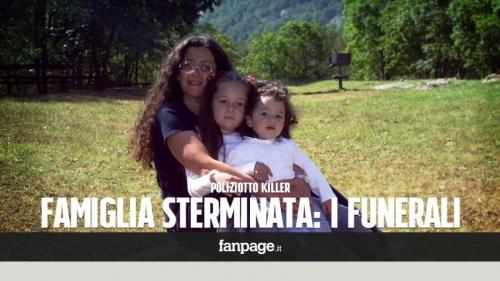 "A nice Italian traditional family: ""Killer cop - Slaughtered family - The burial"""