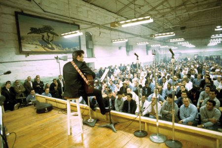Johnny Cash at Folsom State prison, January 13, 1968
