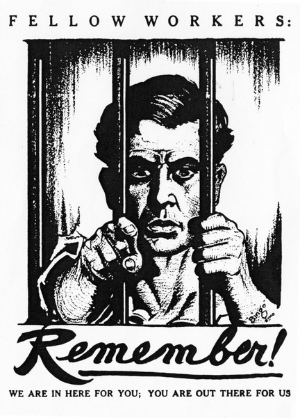 IWW prisoners solidarity campaign