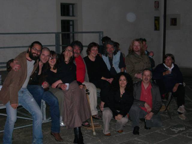 A typical pack of Compagn de la ringhera. Sesto Fiorentino, De Martino Institute, May 14, 2006.