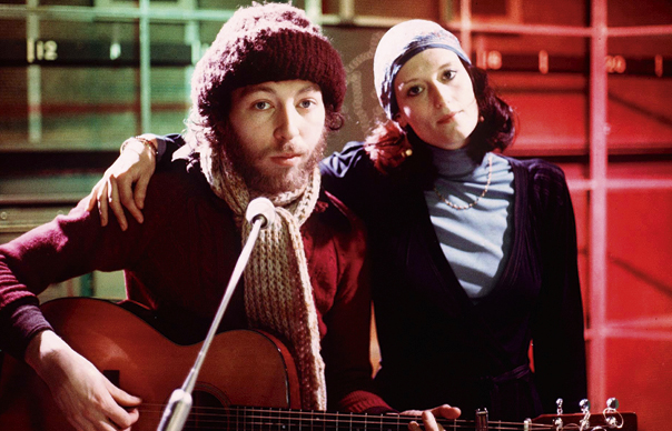 Richard e Linda Thompson, ca. 1974