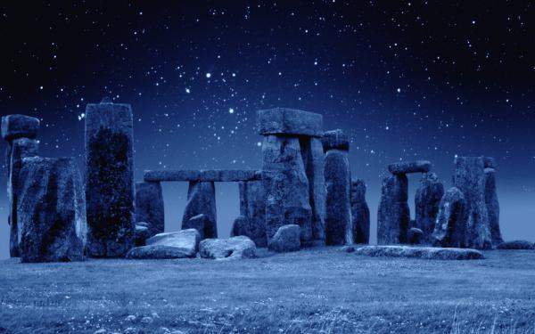 """…and starlit Stonehenge"